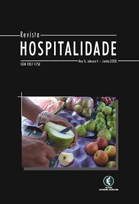 Hospitalidade, Ano V, No 1, Junho 2008
